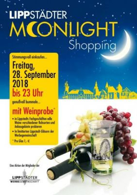 Moonlight Shopping zum Herbstanfang